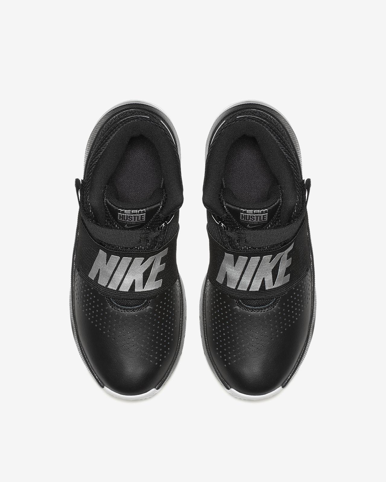 7b856c10a9e0 Nike Team Hustle D 8 FlyEase Big Kids  Basketball Shoe. Nike.com