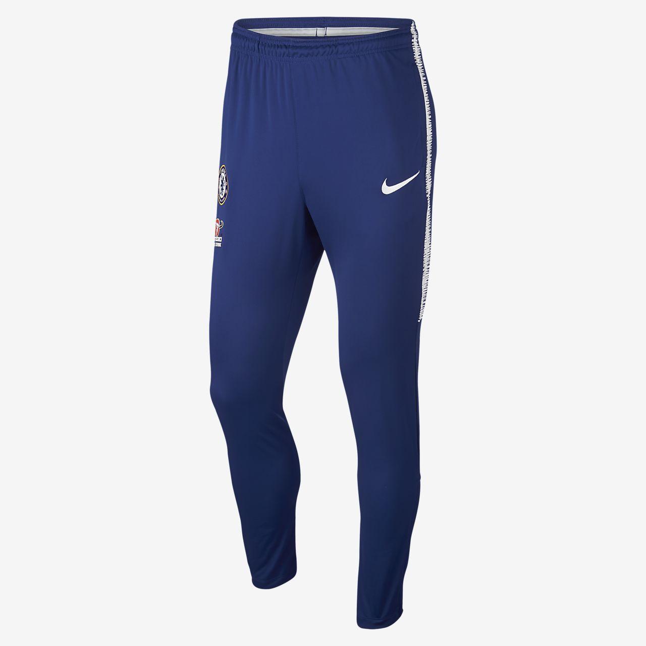 0dfc127651 Calças de treino de futebol Chelsea FC Dri-FIT Squad para homem ...