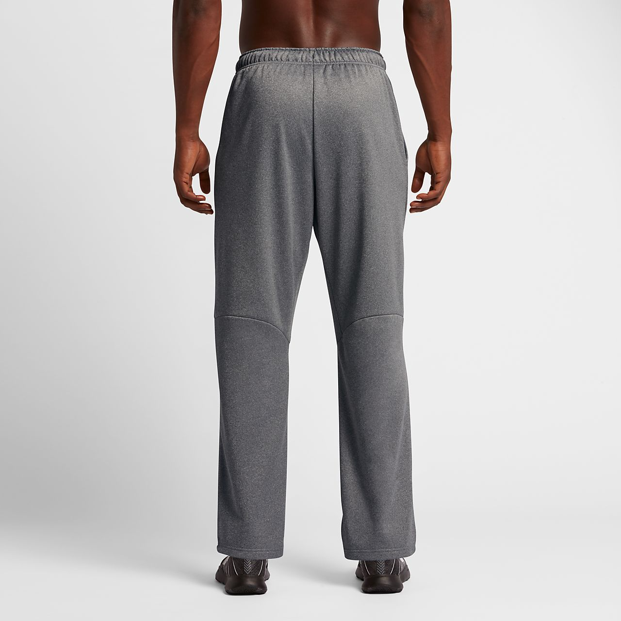 Nike Therma Men's Training Pants Carbon Heather/Black