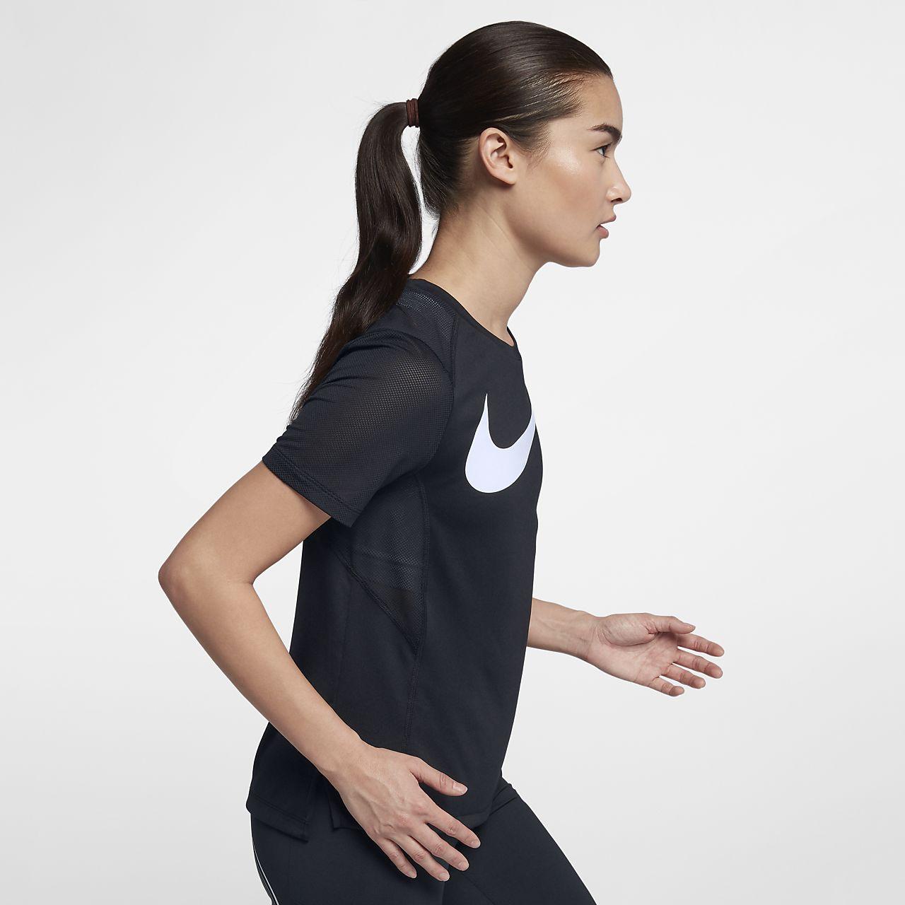c9749b4c8858b Nike Miler Women s Short-Sleeve Running Top. Nike.com HR