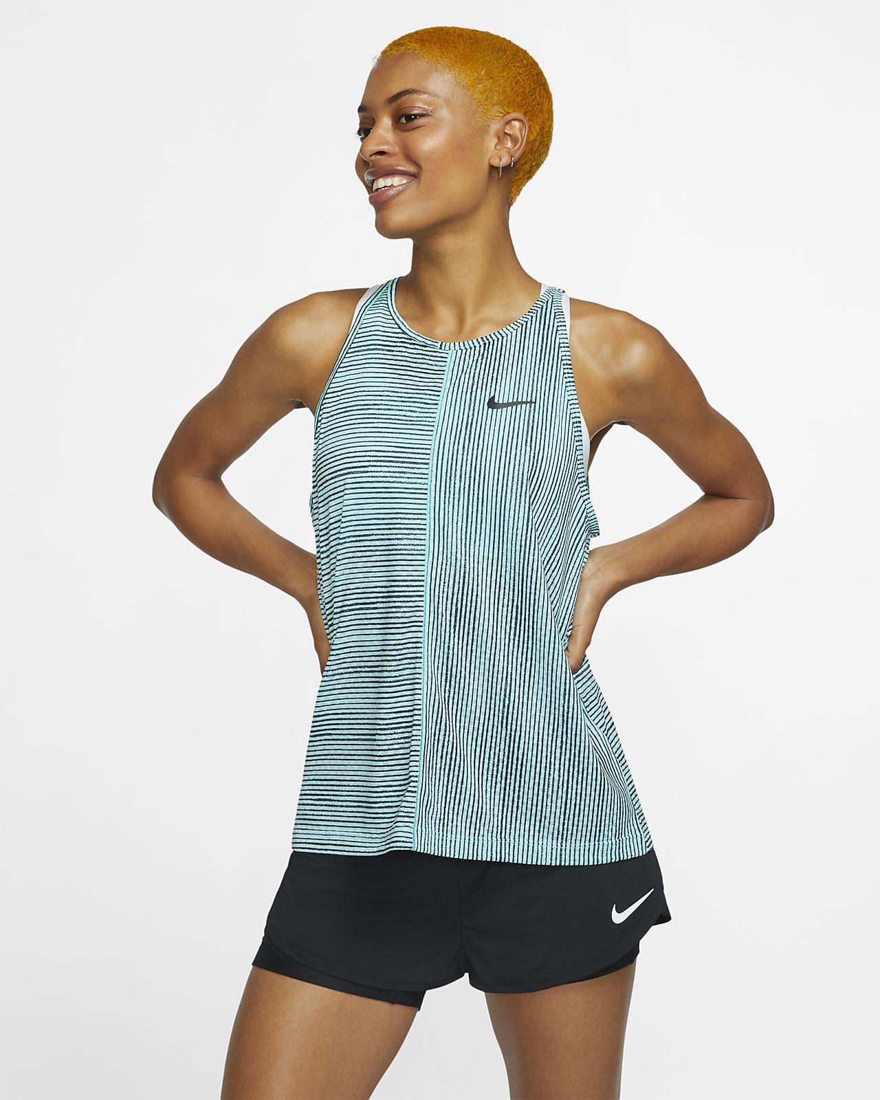 Женская теннисная майка с принтом NikeCourt