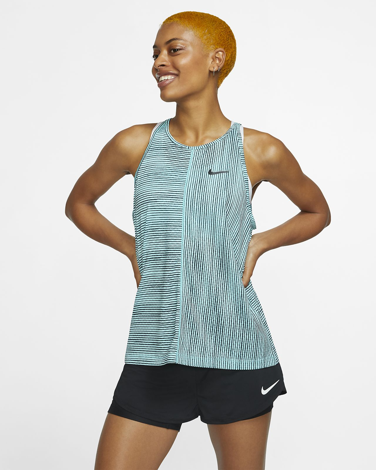 NikeCourt Women's Printed Tennis Tank
