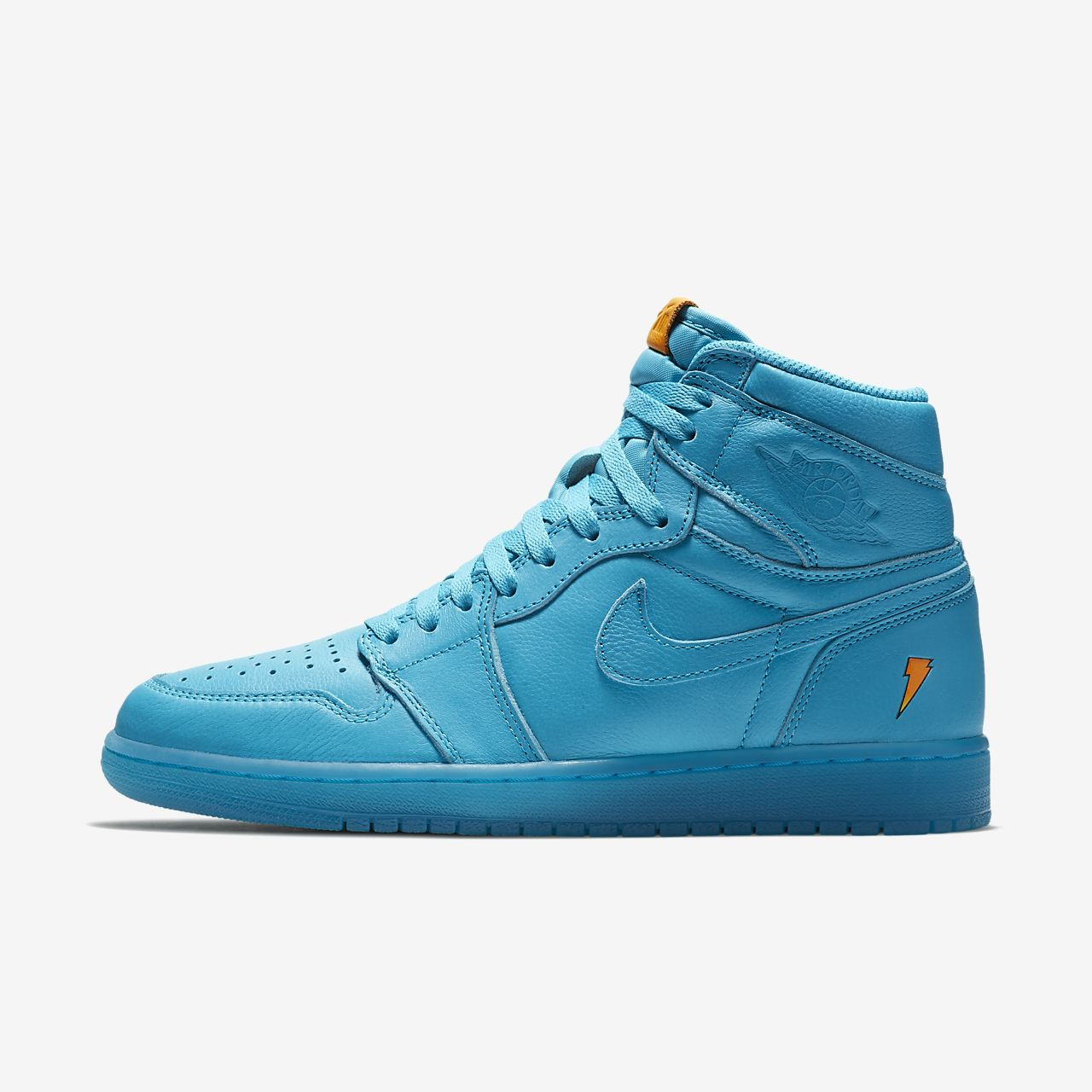 air jordan 1 retro high og cool blue men 39 s shoe. Black Bedroom Furniture Sets. Home Design Ideas