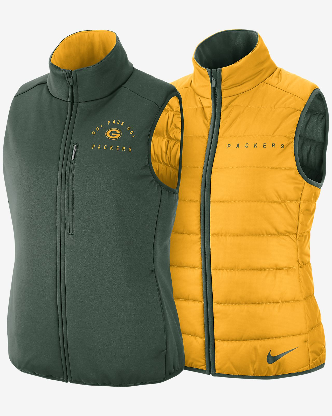 Nike (NFL Packers) Women's Reversible Vest