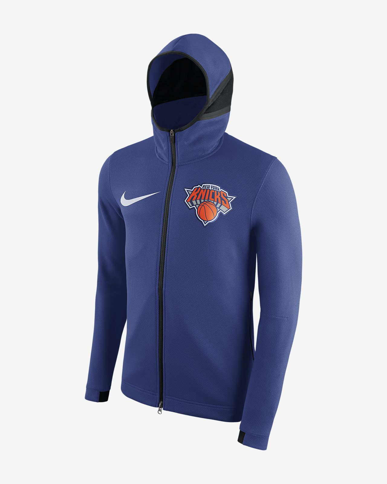 ... Felpa New York Knicks con cappuccio Nike Therma Flex Showtime NBA - Uomo 1642d35ecafe
