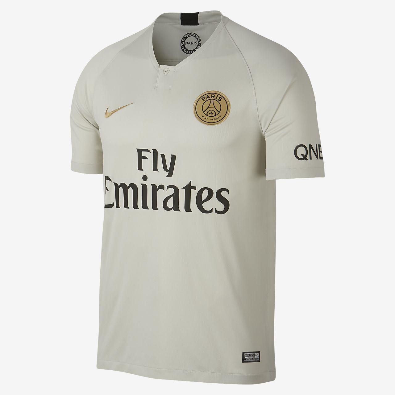 Camiseta de fútbol para hombre del Paris Saint-Germain Stadium Away 2018/19