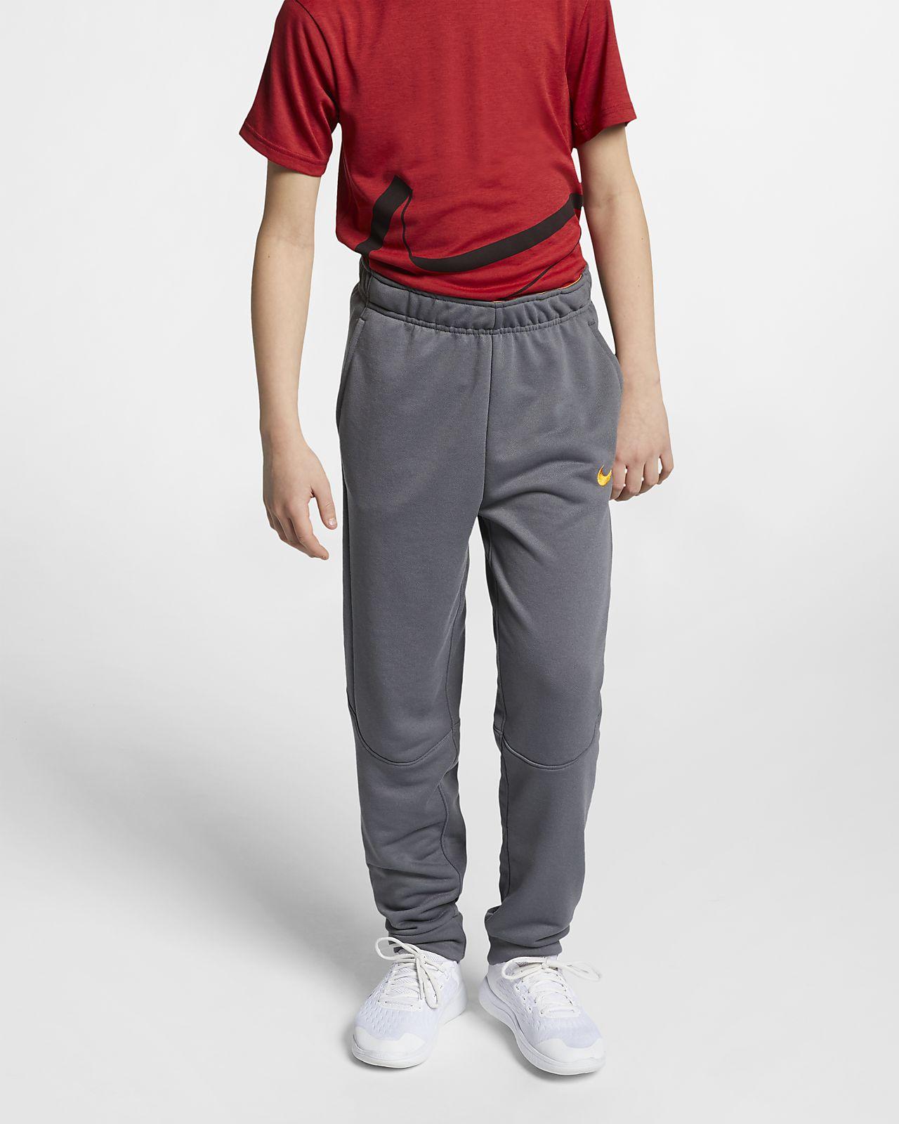 Pantalones de entrenamiento de vellón para niños de talla grande Nike  Dri-FIT 91f93918f0b7a