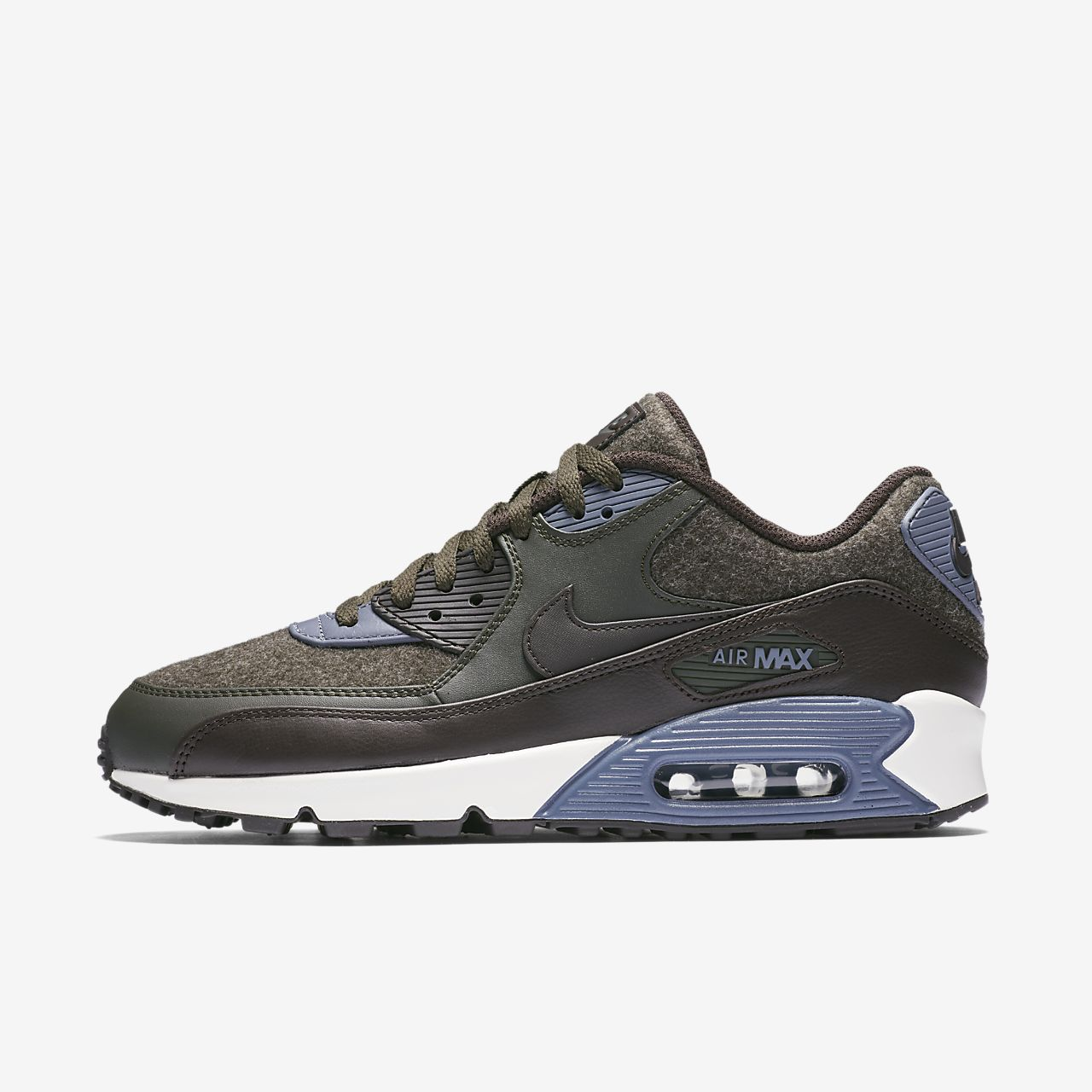 nike air max 90 premium mens leather shoe