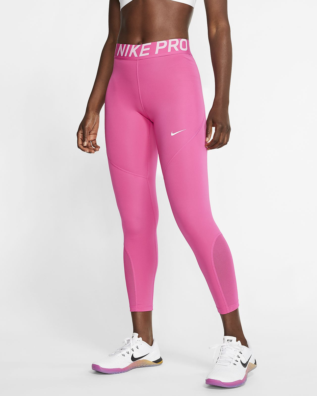 latest fashion online for sale best deals on Nike Pro Women's 7/8 Tights