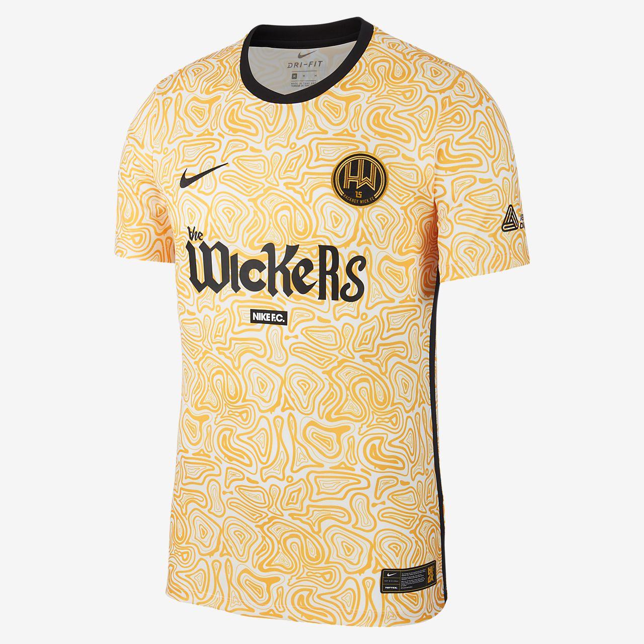 Męska koszulka piłkarska Hackney Wick FC Away