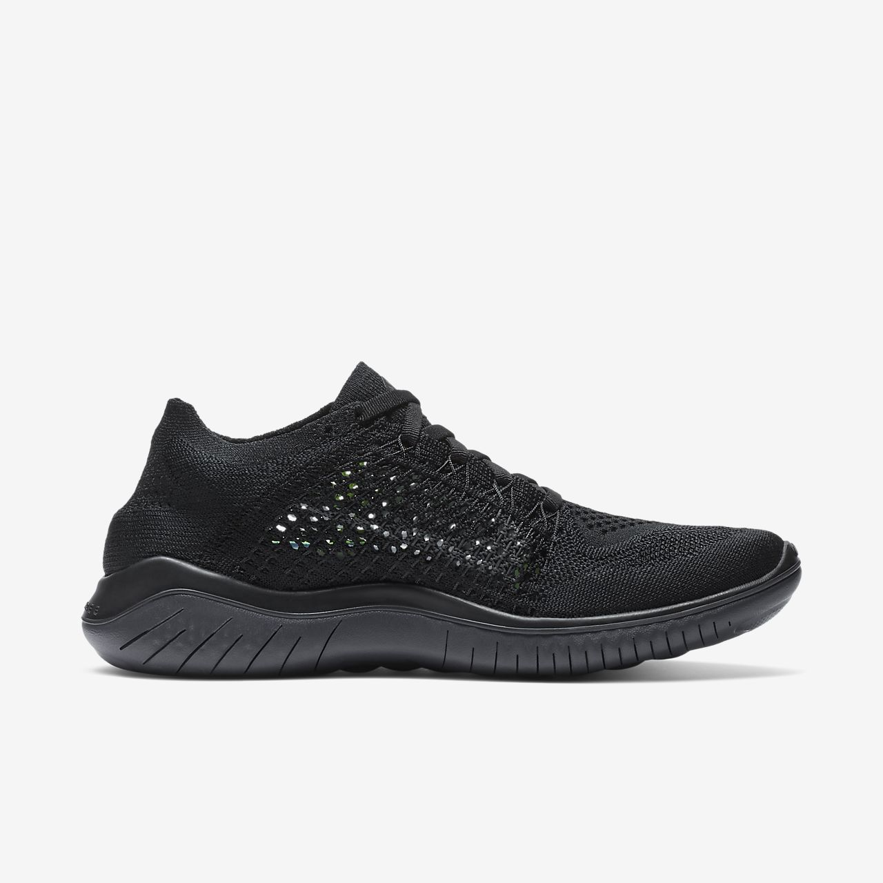 nike free rn women's black and white nz