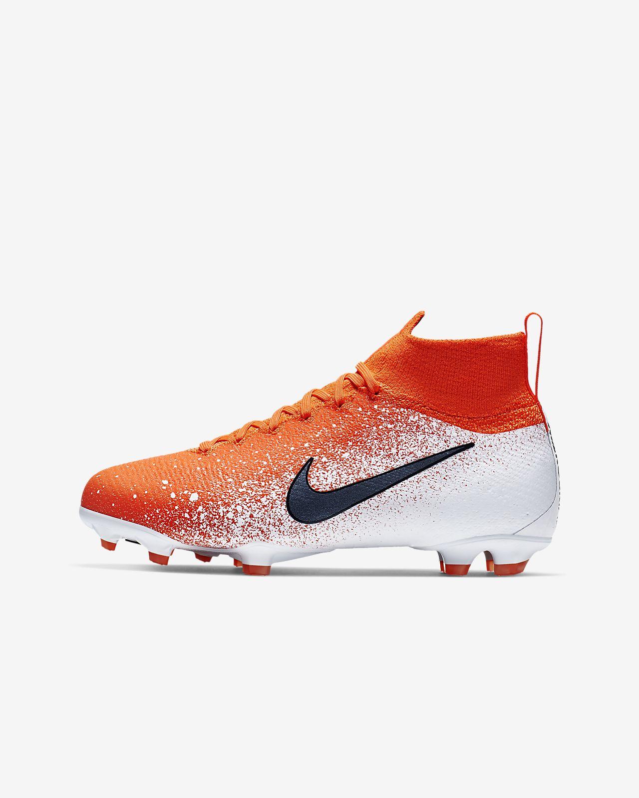 Футбольные бутсы для игры на твердом грунте для школьников Nike Jr. Superfly 6 Elite FG
