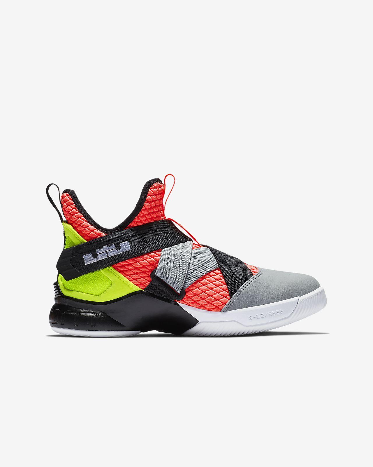 big sale 97a02 48f17 ... LeBron Soldier 12 SFG Big Kids  Basketball Shoe