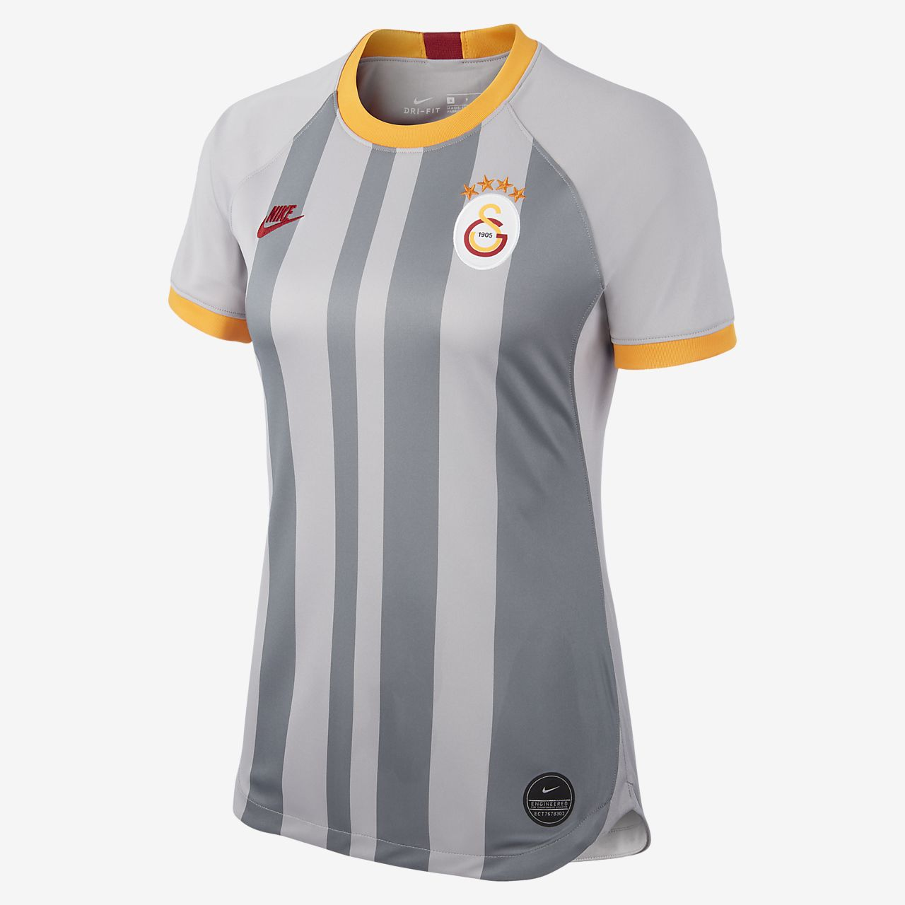 Fotbollströja Galatasaray 2019/20 Stadium Third för kvinnor