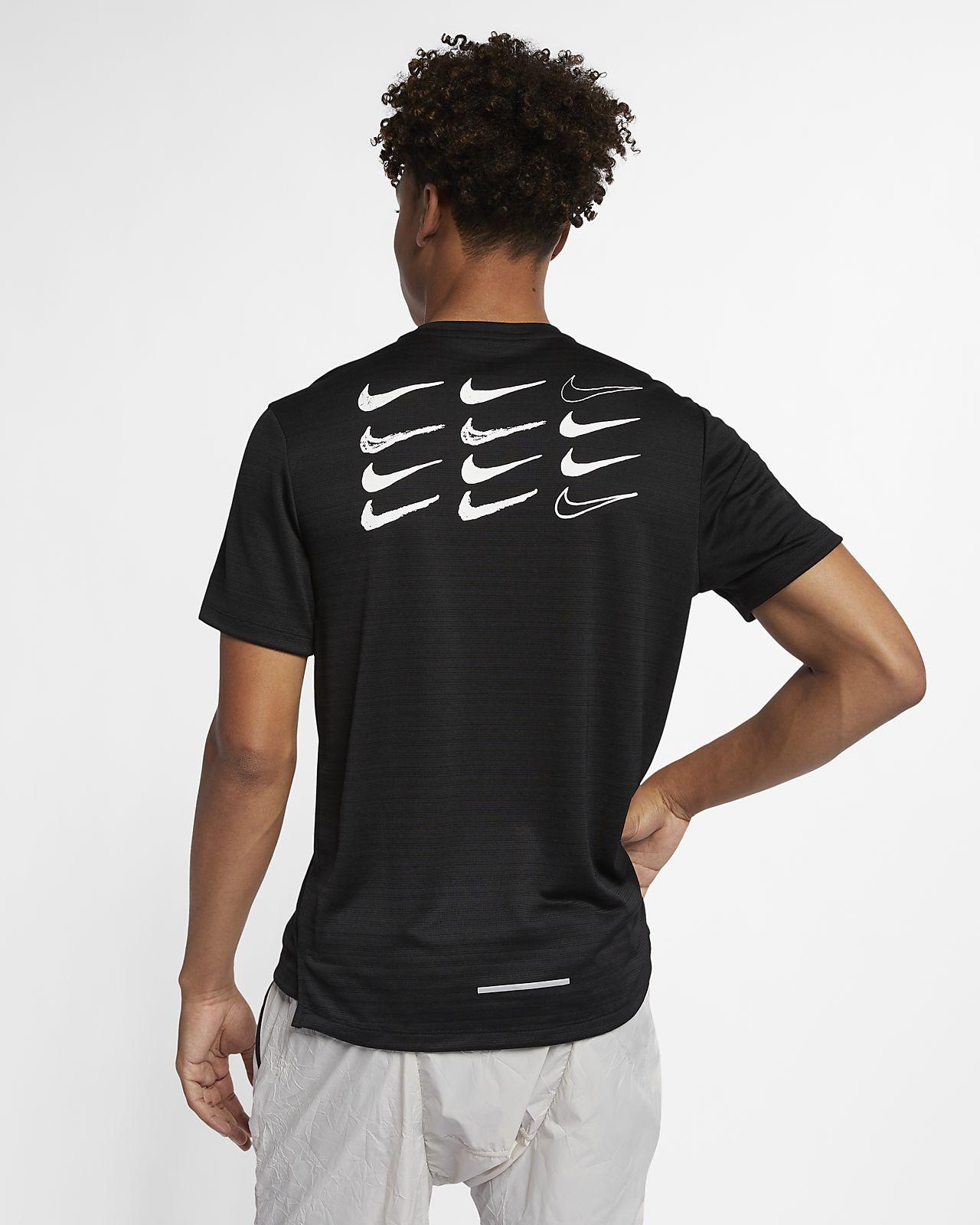 6e435f4c Nike Dri-FIT Miler Men's Short-Sleeve Graphic Running Top. Nike.com LU