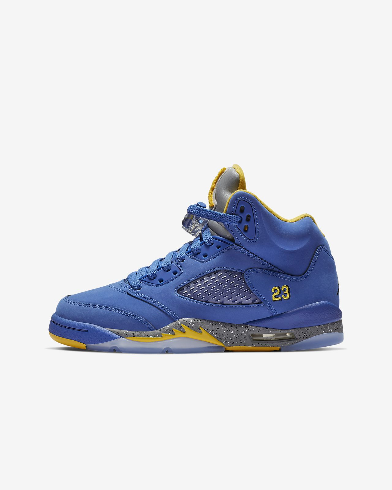 Air Jordan 5 Laney JSP Big Kids Shoe. Nike.com c09aac0eca