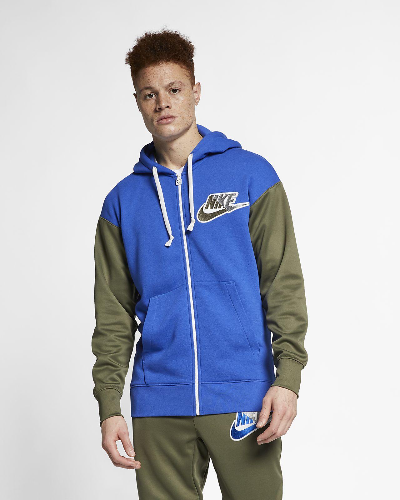 sale retailer a4236 77222 ... Huvtröja med hel dragkedja Nike Sportswear för män