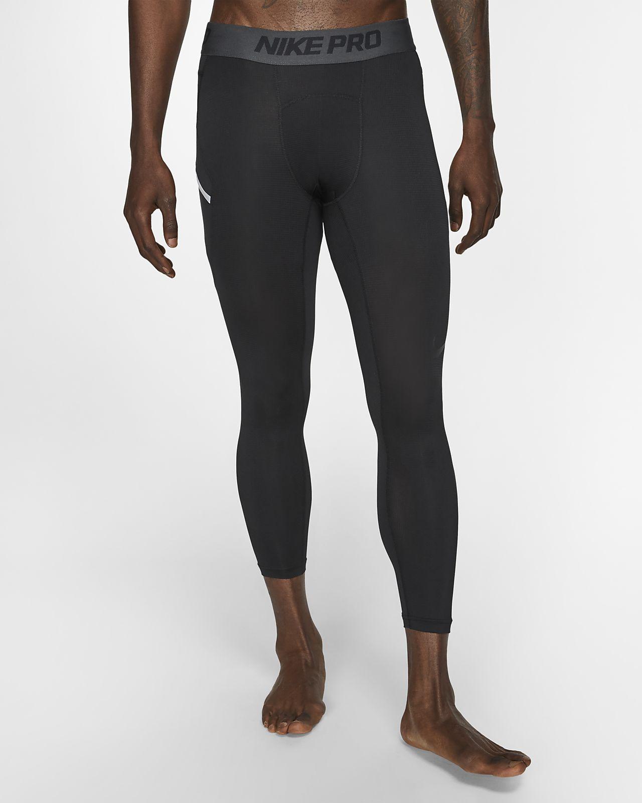 Tights de basquetebol a 3/4 Nike Pro para homem