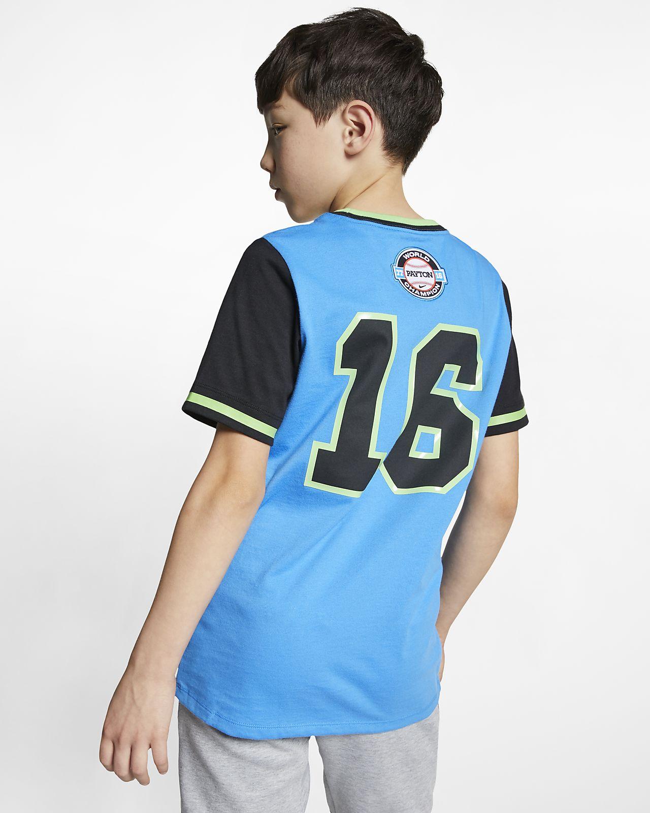 76a36096a5064 ... Payton s Nike (Doernbecher Freestyle) Big Kids  (Boys ) T-Shirt. Low  Resolution ...