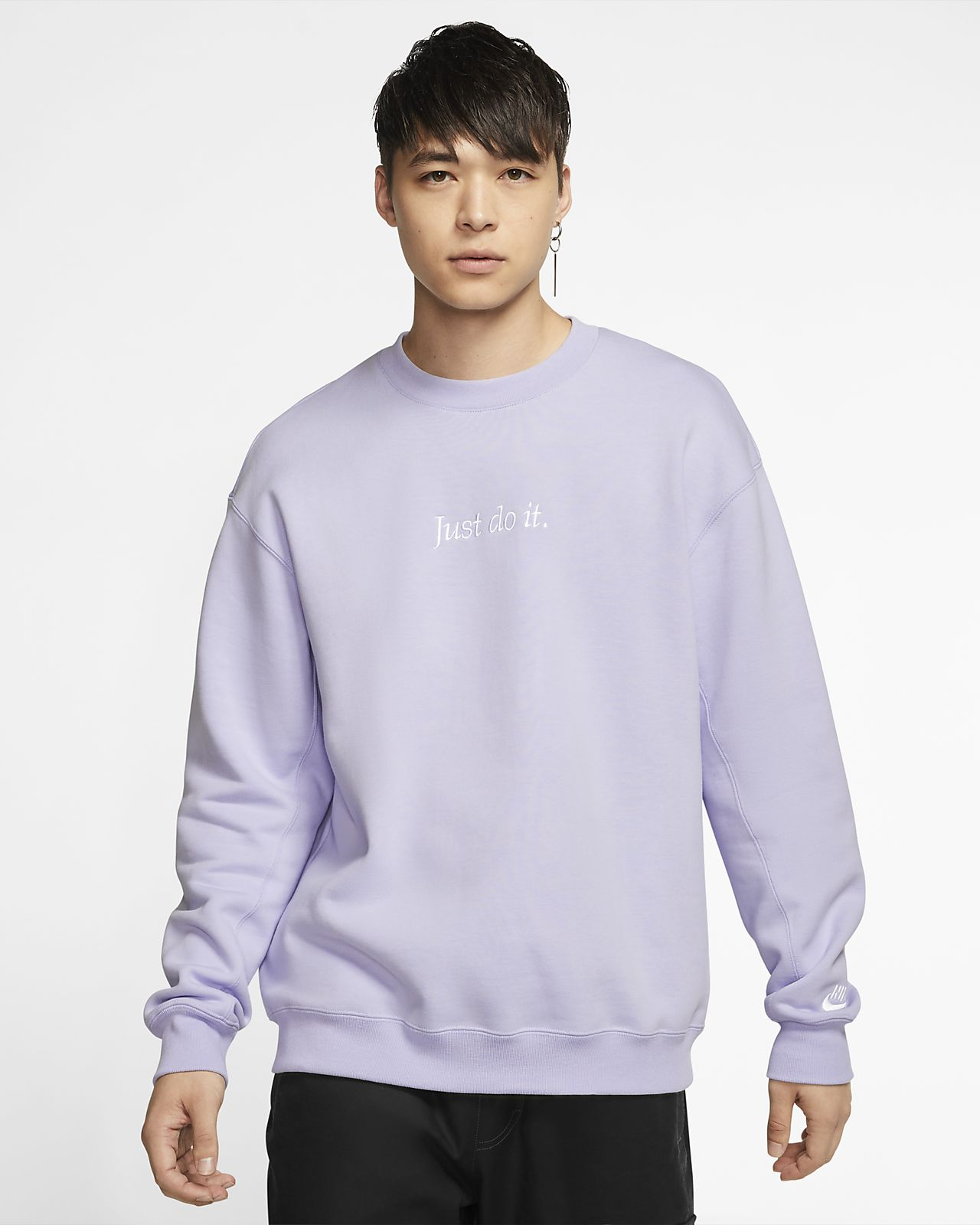 Details about Nike Just Do It Crew Sweatshirt Mens Sweater Top Jumper