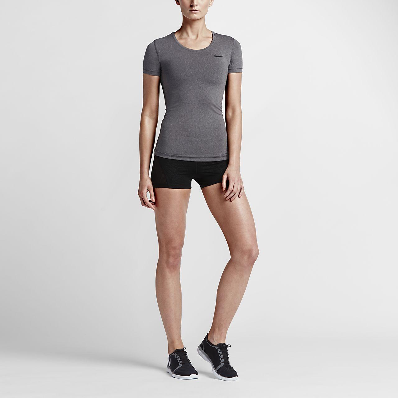 ... Nike Pro Women's Short Sleeve Training Top