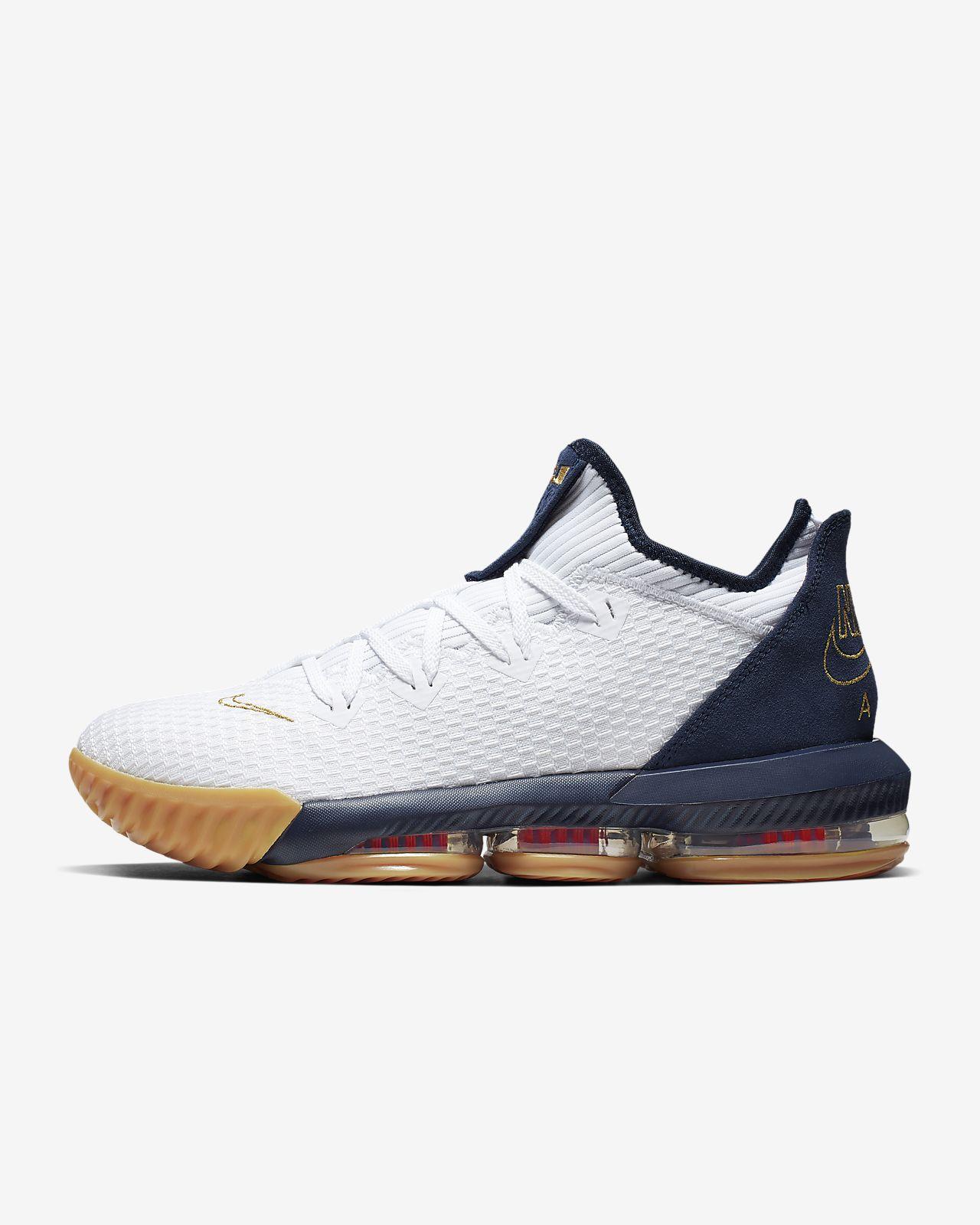 LeBron 16 Low Basketball Shoe