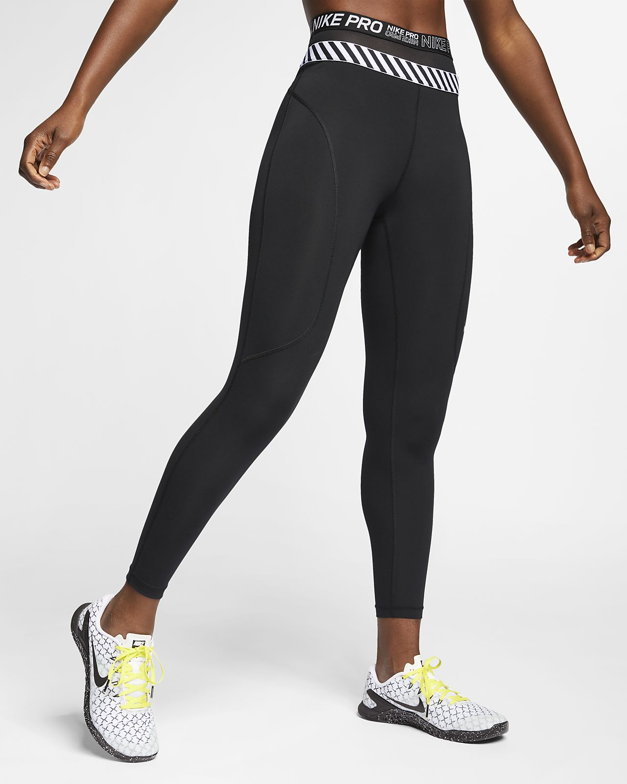 Nike Pro HyperCool 7/8-Tights für Damen