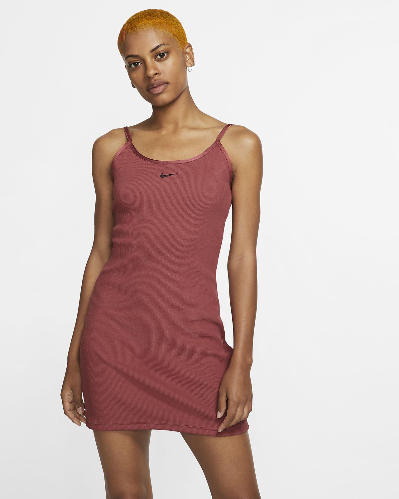 Ribbad klänning Nike Sportswear JDI för kvinnor