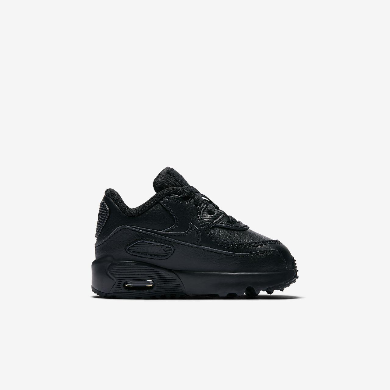 Chaussure Nike Air Leather Max 90 Leather Air pour Bébé/Petit LU efce1f