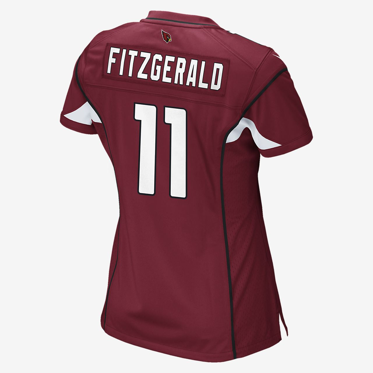 ddb0b3e81397 ... NFL Arizona Cardinals (Larry Fitzgerald) Women s Football Home Game  Jersey