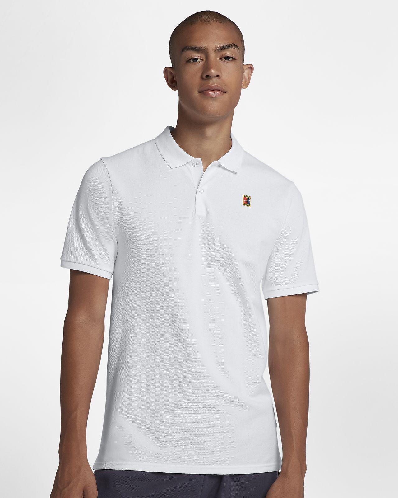 NikeCourt-tennisskjorte til herre
