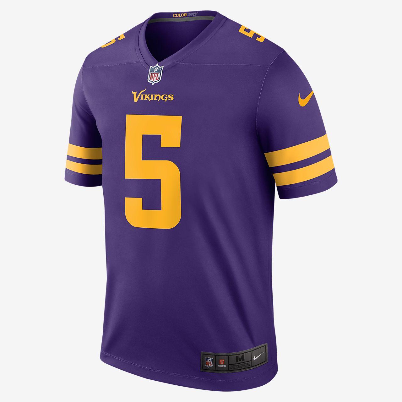 vikings color rush jersey