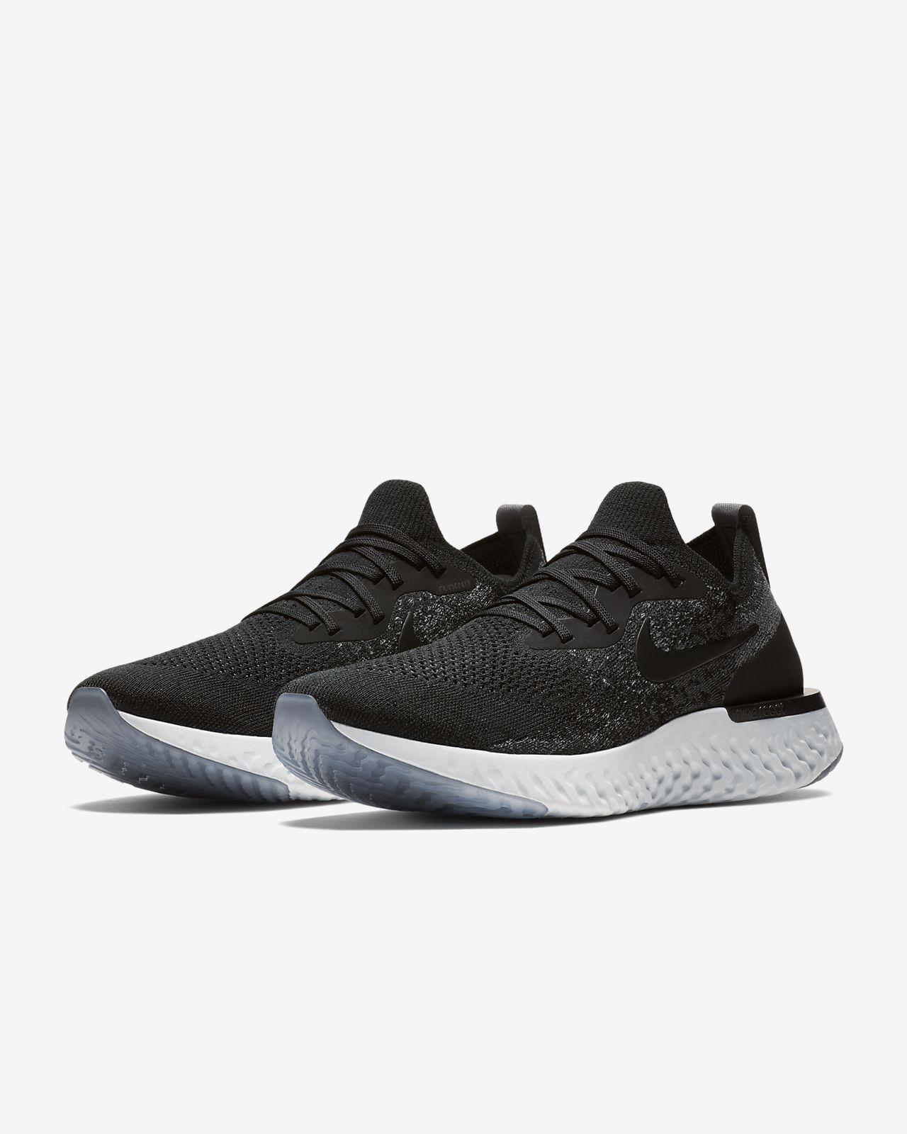 Nike Performance EPIC REACT FLYKNIT - Chaussures de running neutres - cargo khaki/black/sequioa 2tdKafT0Me