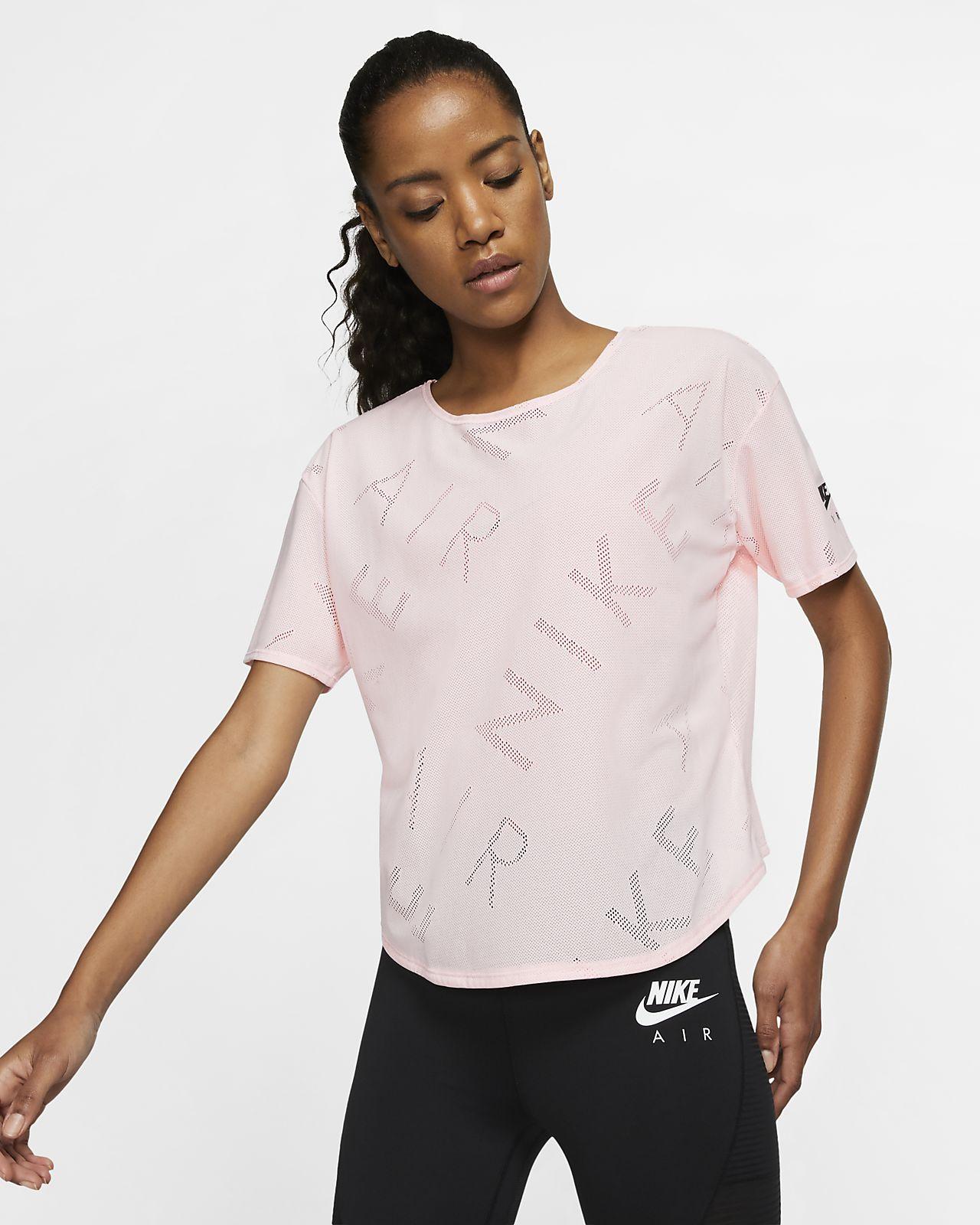 Γυναικεία κοντομάνικη μπλούζα για τρέξιμο Nike Air