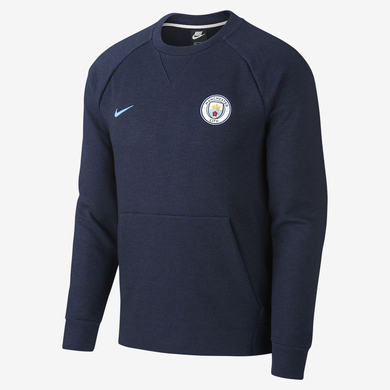 2d4359ac7 Manchester City FC Men's Long-Sleeve Crew. Nike.com AU