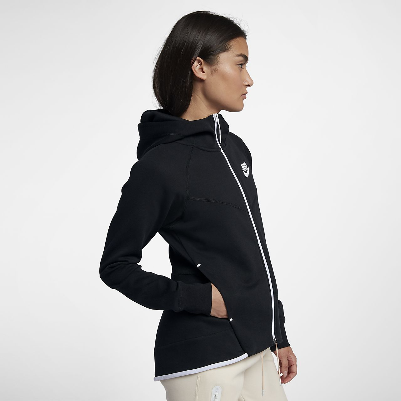 062ea407066e Nike Sportswear Tech Fleece Windrunner Women s Full-Zip Hoodie. Nike.com