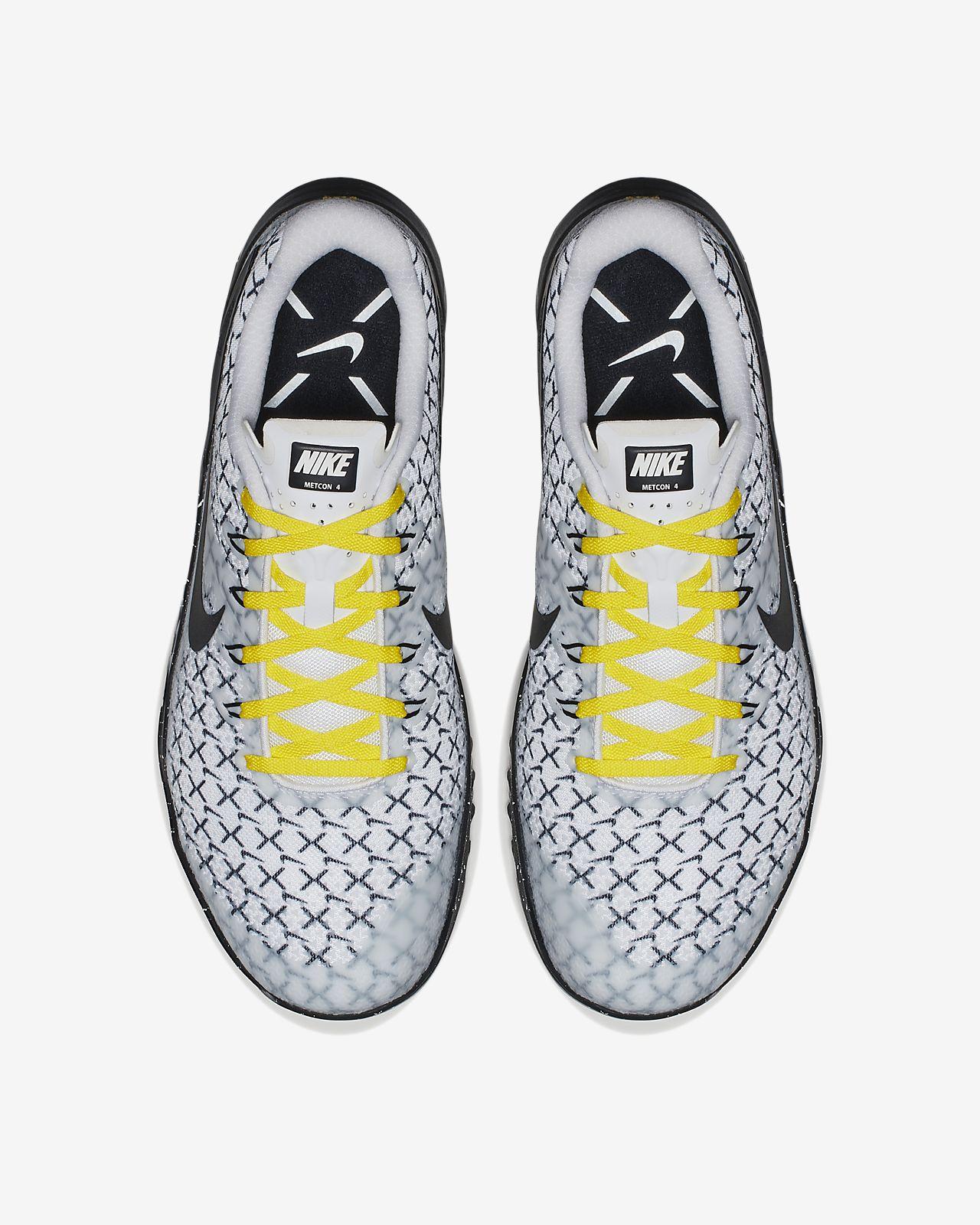 new product 197f4 160b2 scarpa da cross-trainingsollevamento pesi nike metcon 4 x biancodynamic  yellownero ao2806-107