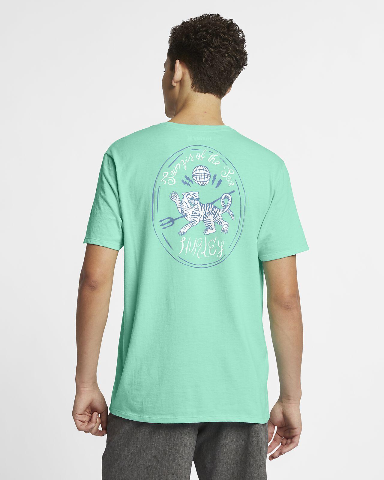 T-shirt Hurley Savage Tiger - Uomo