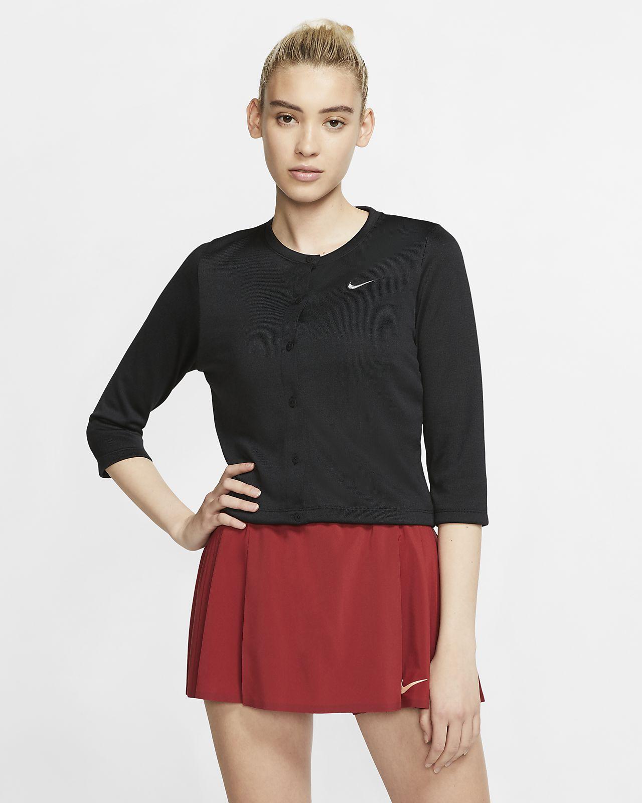 Damski kardigan do tenisa NikeCourt