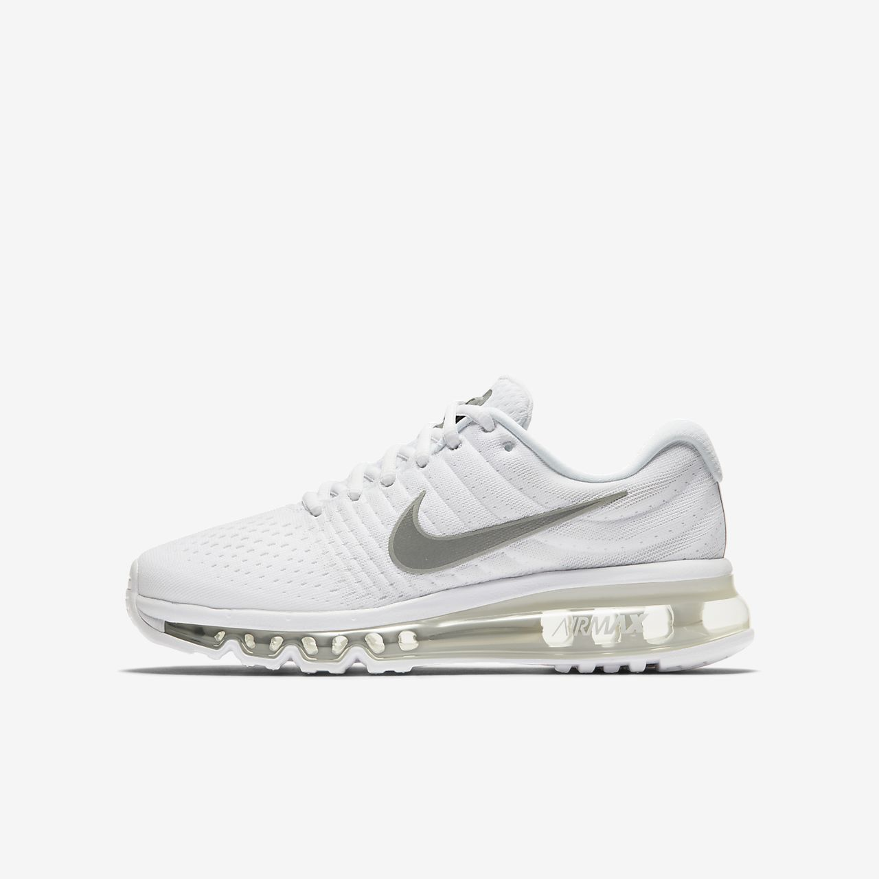 nike running shoes white air max. nike air max 2017 big kids\u0027 running shoe shoes white u