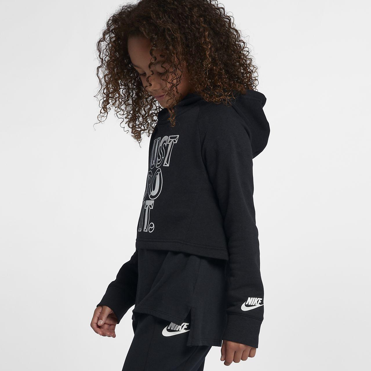 4a09db5dc1 Nike Sportswear Big Kids' (Girls') JDI Cropped Hoodie. Nike.com