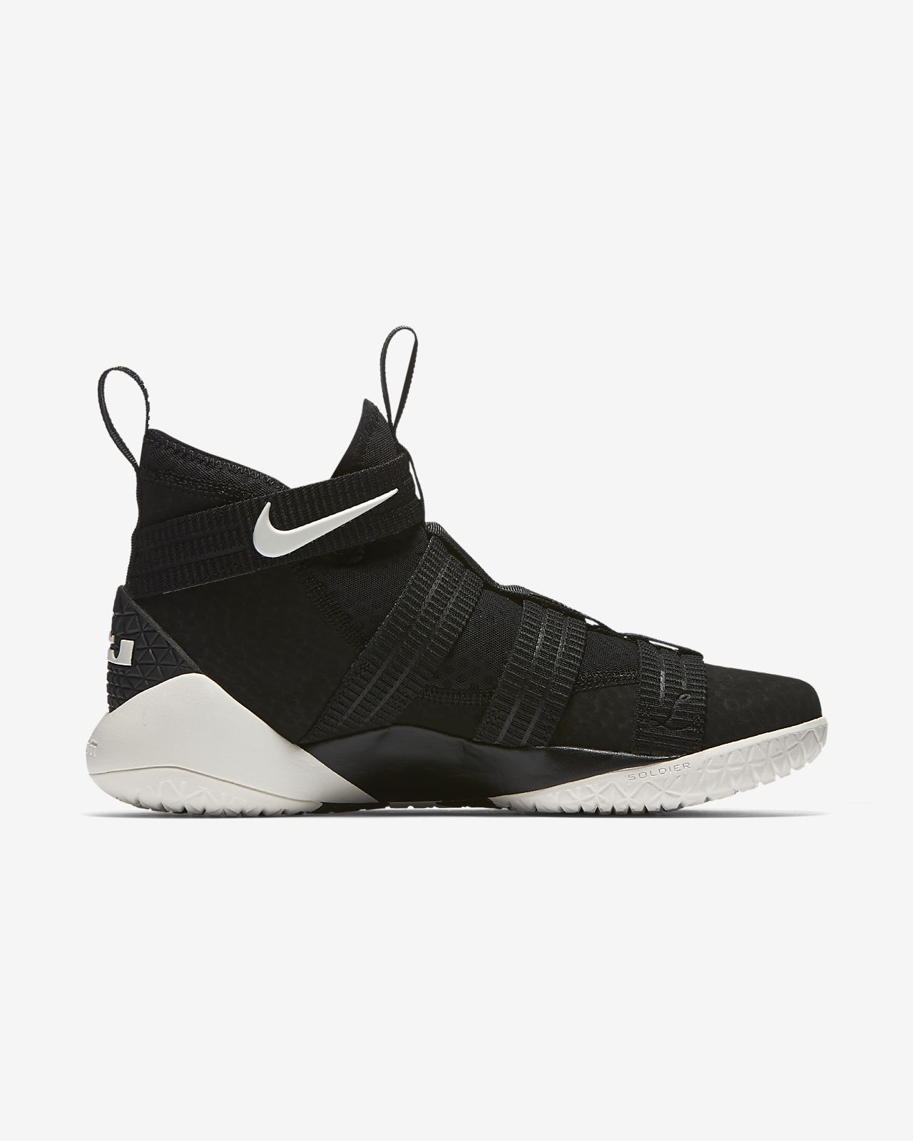 168584b5e94 LeBron Soldier XI SFG Basketball Shoe. Nike.com SG