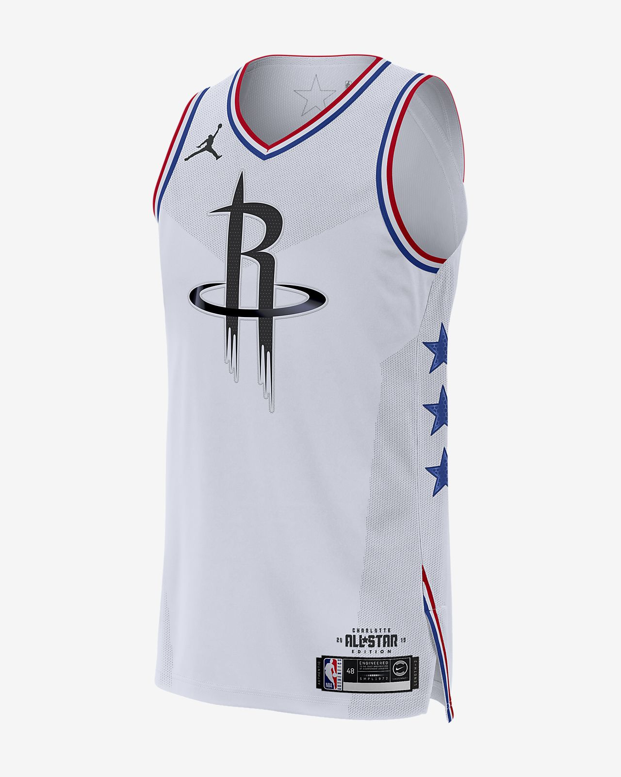 James Harden All-Star Edition Authentic Jordan NBA Connected Jersey 男子球衣