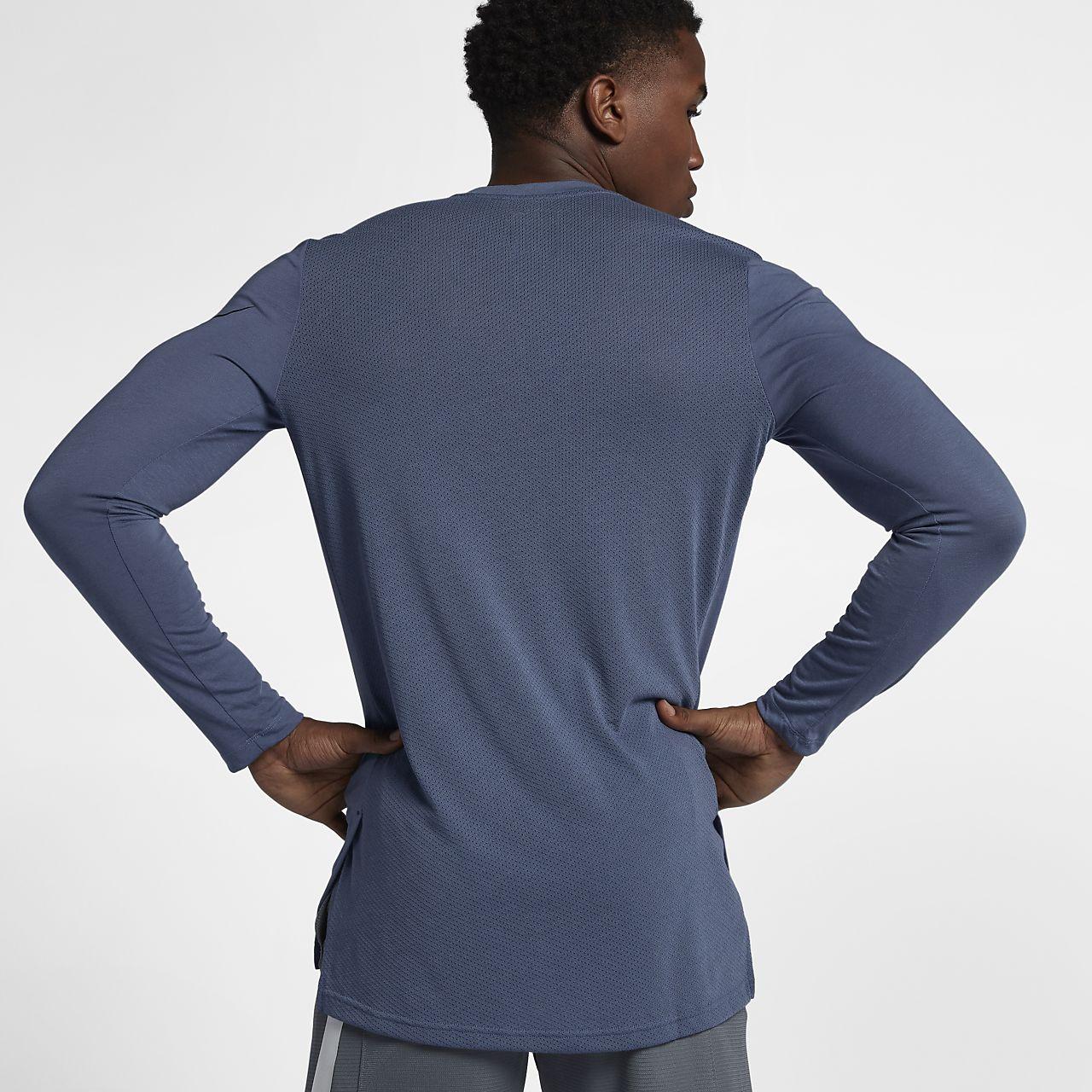 8e48d40015c6 Nike Breathe Elite Men s Long-Sleeve Basketball Top. Nike.com AU