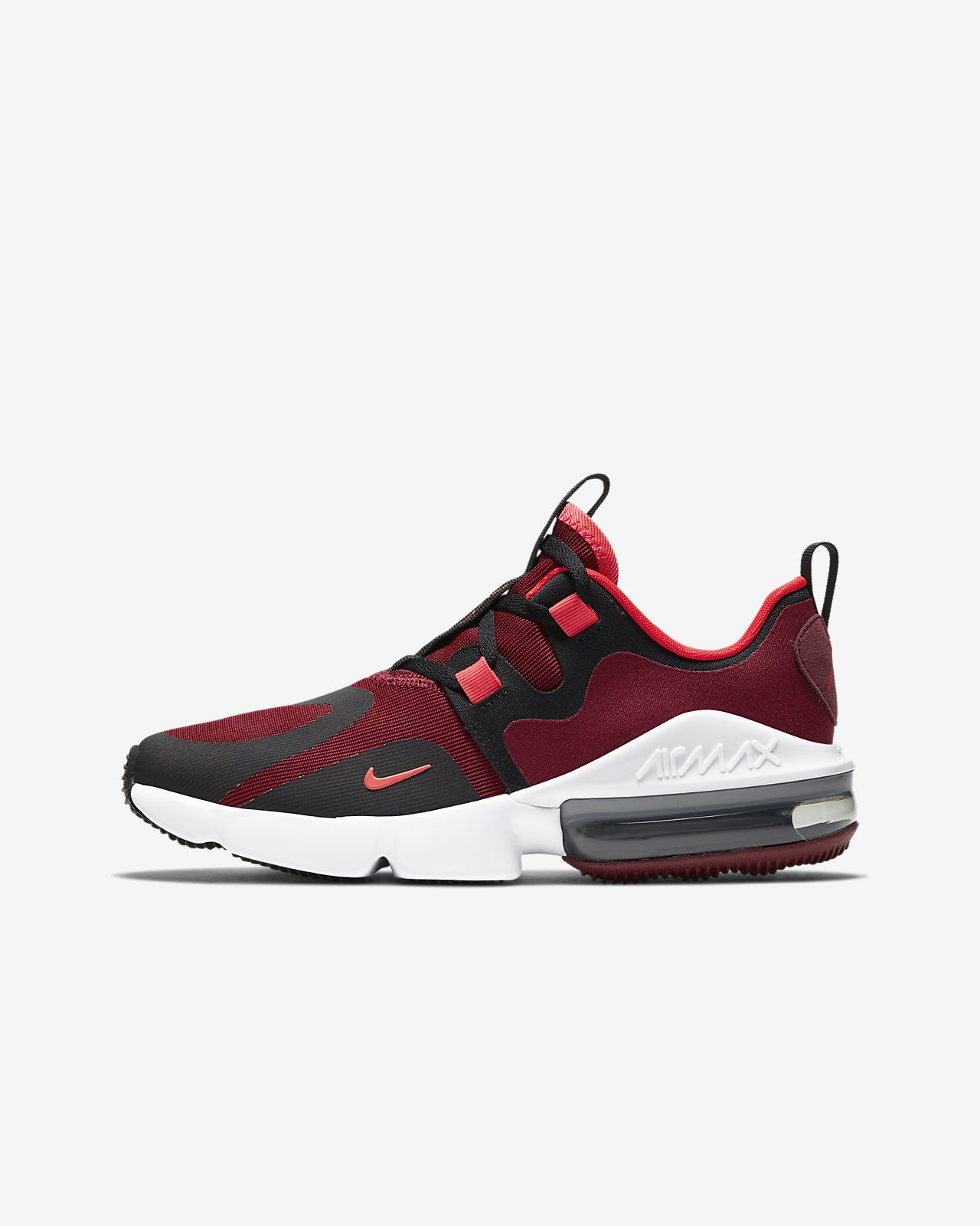 nike air max thea red and sort