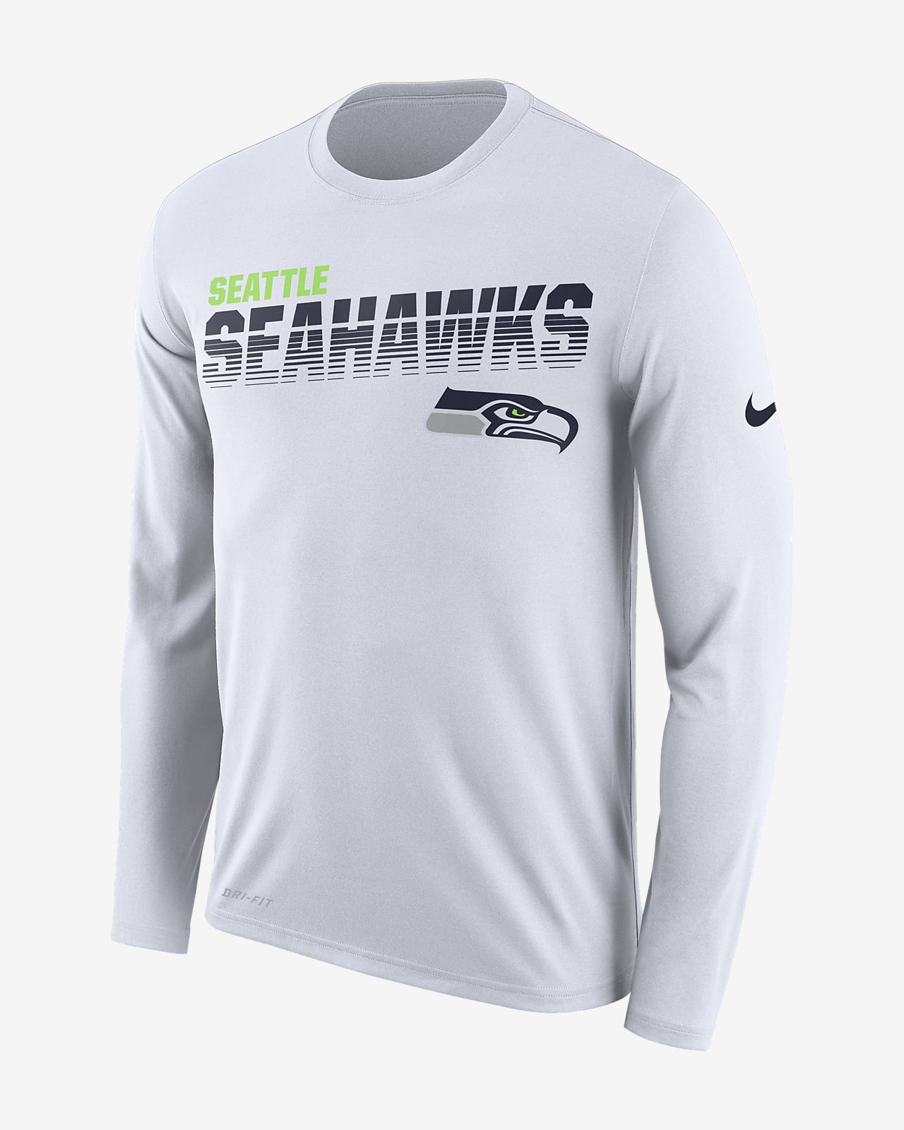 Nike Legend (NFL Seahawks) Men's Long-Sleeve T-Shirt