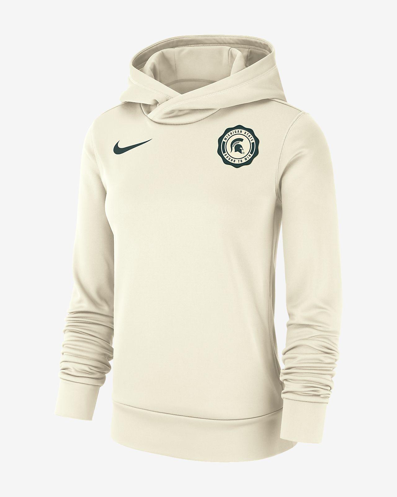 Nike College Therma Michigan State Women S Pullover Hoodie Nike Com