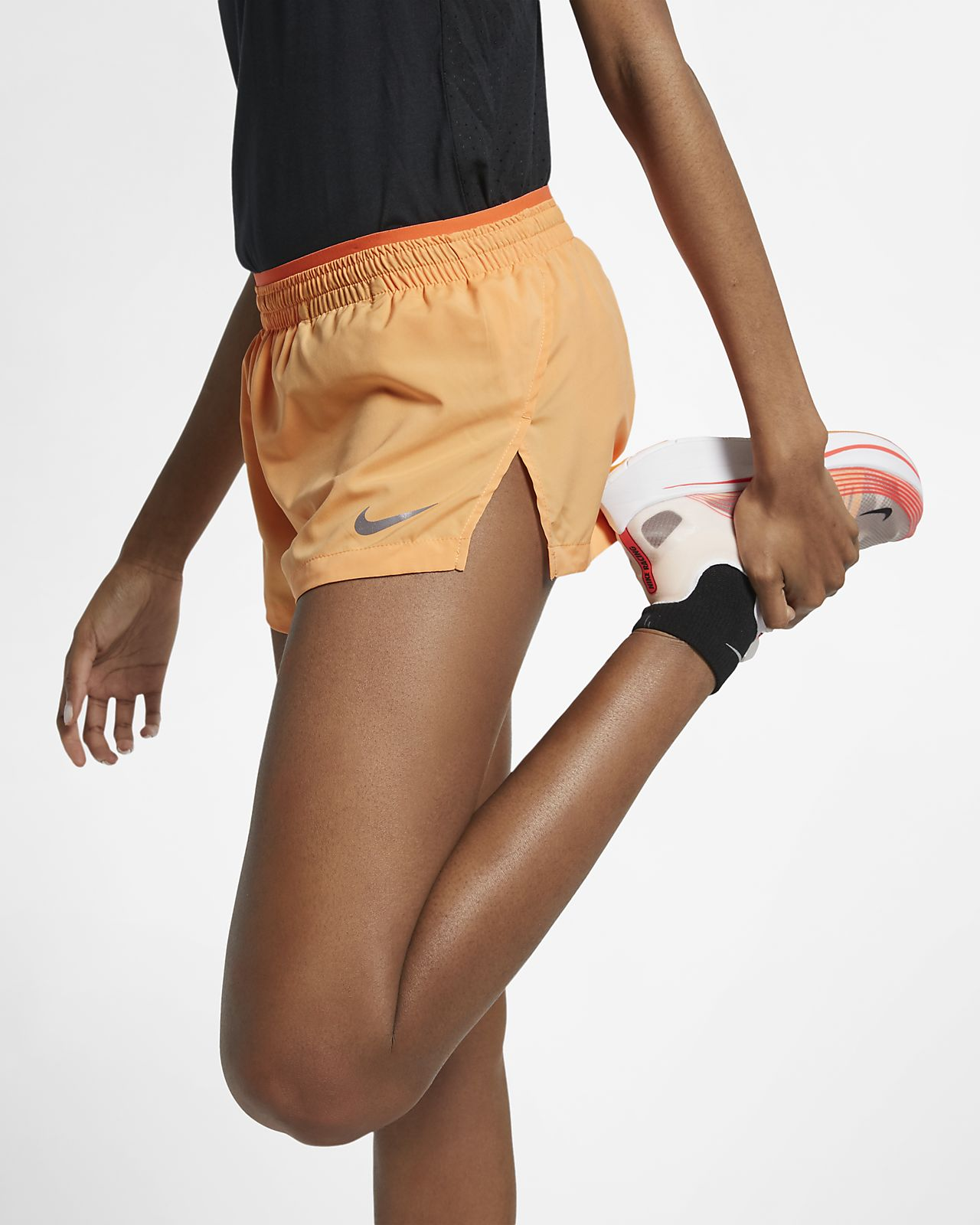 huge discount 1ae21 a82bc ... Nike Elevate Women s Track Running Shorts