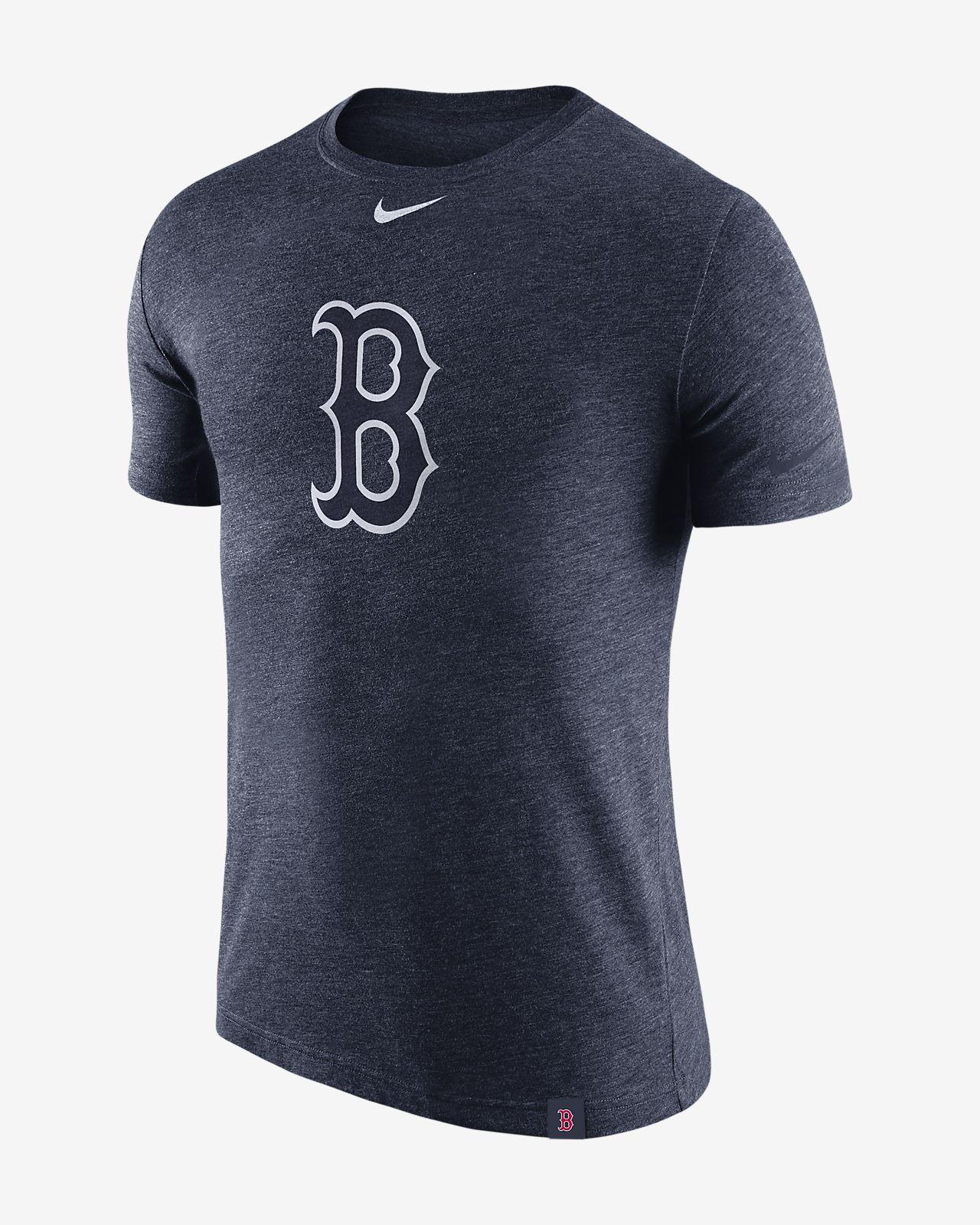 Nike Marled (MLB Red Sox) Men's T-Shirts Navy