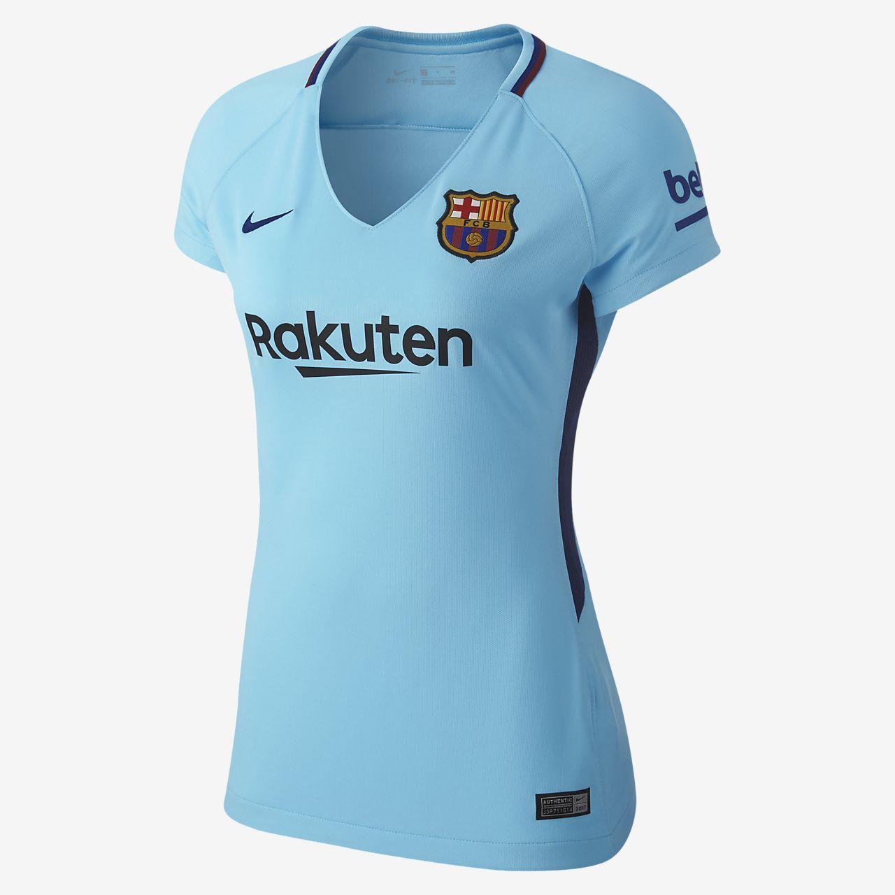 2017/18 FC Barcelona Stadium Away Women Football Shirt